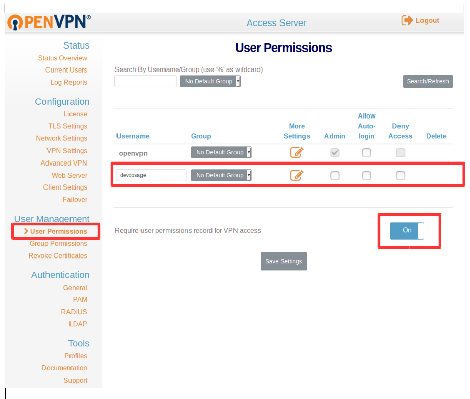 How to Setup OpenVPN Access Server on Ubuntu/CentOS  – DevOpsAGE